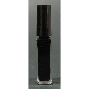 Smalto decoro unghie USA base acqua nero pennello sottile 05001