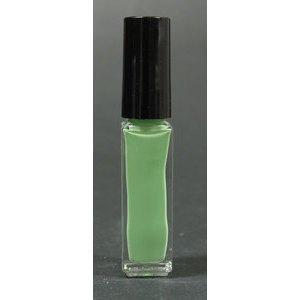 Smalto decoro unghie USA base acqua verde pastello pennello sottile 05028