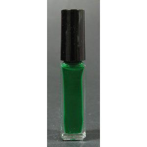 Smalto decoro unghie USA base acqua verde pennello sottile 05033