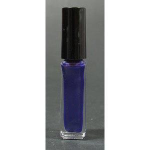 Smalto decoro unghie USA base acqua viola perlato pennello sottile 05011