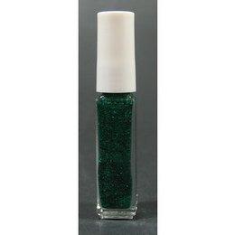 Smalto Flexbrush laquer base verde glitter 01273