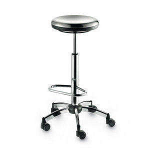 Metal Sit con ruote