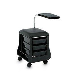 Sgabello con ruote Mini Mani art 110 nero