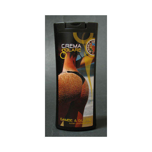 Crema solare Bronzao gambe e glutei anticellulite-rassodante media protezione 250 ml