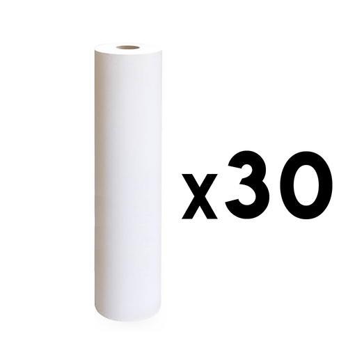 Rotolo lenzuolino due veli h 60 cm. 80 mt. 30 pezzi