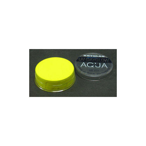 AQUA COLOR FLUO UV Day Glow Giallo Fluo Kryolan 8 ml