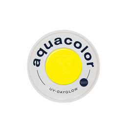 AQUA COLOR  UV Day Glow Yellow Giallo 30ml Kryolan