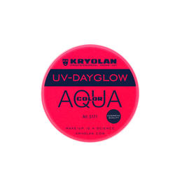 AQUA COLOR UV Day Glow Rosso Kryolan 8 ml