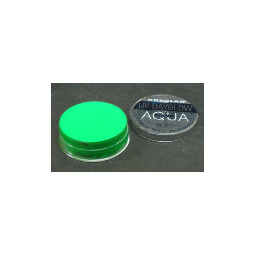 AQUA COLOR FLUO UV Day Glow Verde Fluo Kryolan 8 ml