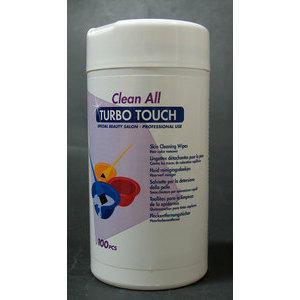 Salviette smacchianti Clean Turbo Touch box 100 pz. Sin.