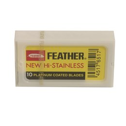 Lama Feather Double Edge 1 pacchetto da 10 lame
