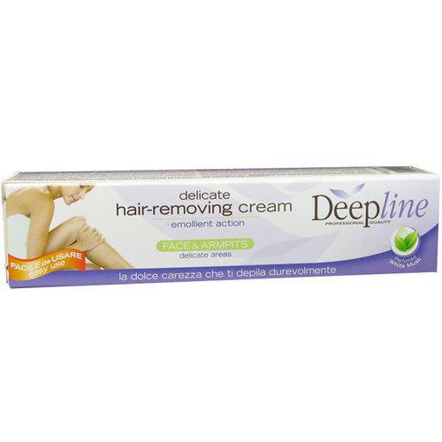 Deep Line Crema Depilatoria viso/parti delicate DE502 75ml