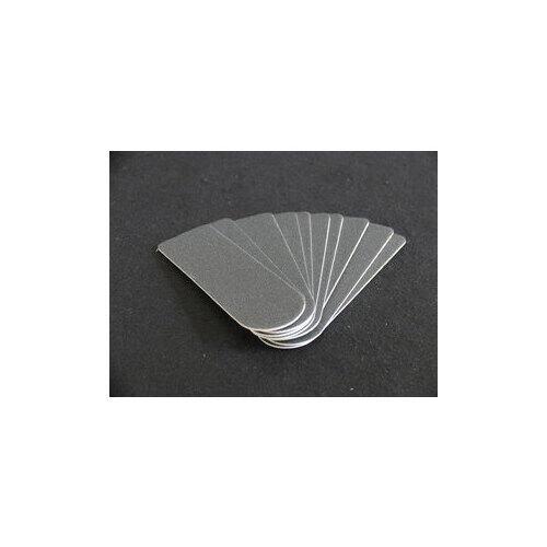 Kit 10 Ricambi raspa Inox Grana Fine 180# art.95253