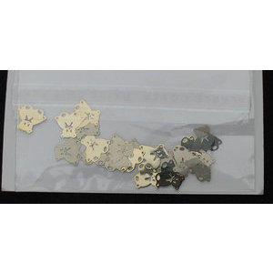 Decoro Nail Art orsetto colore oro cod. 2970