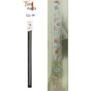Striscia Adesivi 3D Sticker per Unghie LL-50 Timi Nails