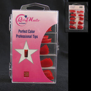 Professional tips 100 pz Roby rosso