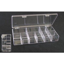 Box Portatip Grande 500 tip Trasparente