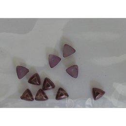 Decoro per unghie triangoli bombati bronzo