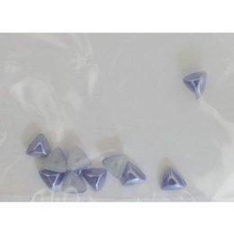 Decoro per unghie triangoli bombati lilla