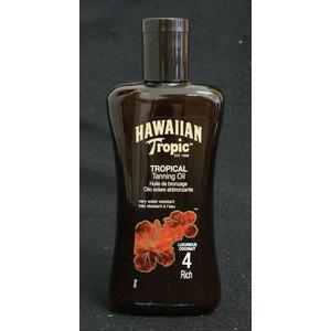 Hawaiian Tropic Tanning Oil SPF 4 200 ml