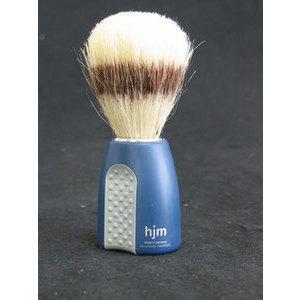Muhle Pennello barba pura setola manico plastica blu con grip