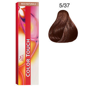 Color Touch 5/37 rich naturals 60 ml Wella castano chiaro oro sabbia