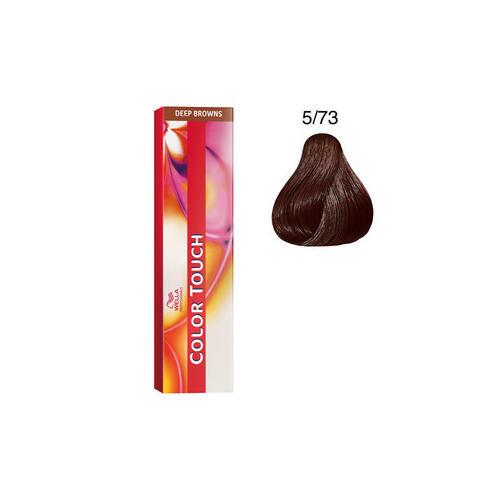 Color Touch 5/73 deep browns 60 ml Wella castano chiaro sabbia dorato