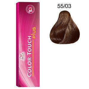 Tintura per capelli No Ammonia Color Touch Plus 55/03 60 ml Wella