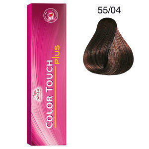 Tintura per capelli No Ammonia Color Touch Plus 55/04 60 ml Wella