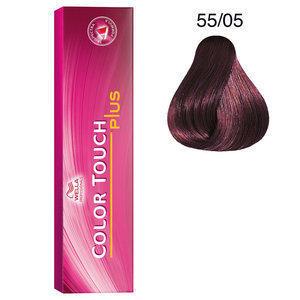 Color Touch 55/05 plus 60 ml Wella castano chiaro intenso naturale mogano