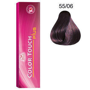 Tintura per capelli No Ammonia Color Touch Plus 55/06 60 ml Wella