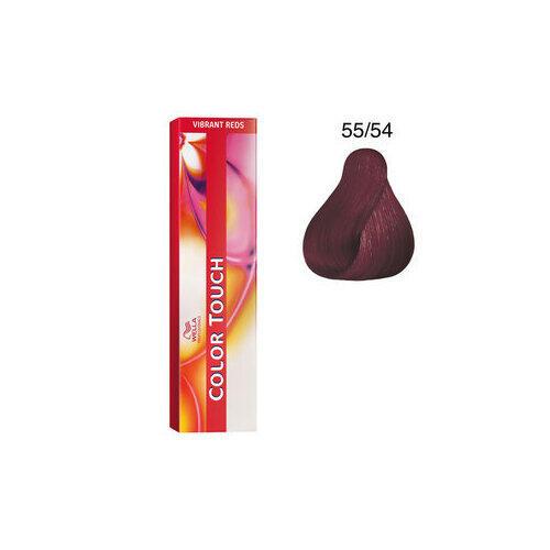 Color Touch 55/54 vibrant reds 60 ml Wella castano chiaro intenso mogano rame