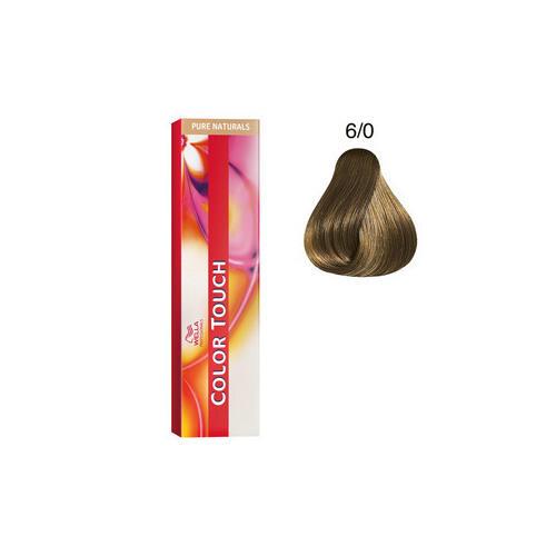 Color Touch 6/0 pure natural 60 ml Wella biondo scuro