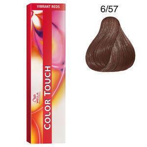 Color Touch 6/57 vibrant reds 60 ml Wella biondo scuro mogano sabbia