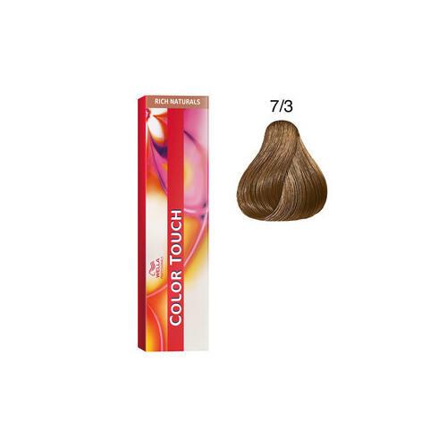 Color Touch 7/3 rich natural 60 ml Wella biondo medio dorato