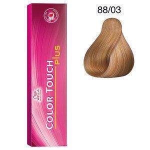 Color Touch 88/03 plus 60 ml Wella biondo chiaro intenso naturale dorato