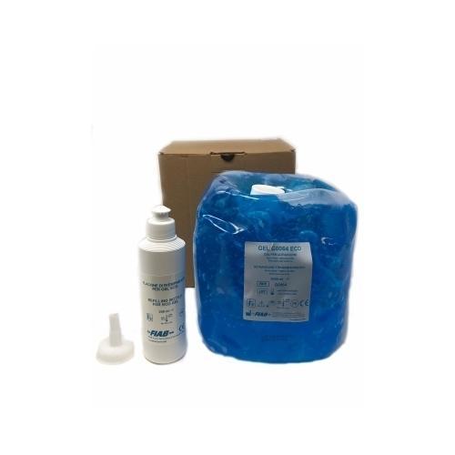Gel Conduttore per Ultrasuoni Azzurro FIAB sacca 5000 ml.