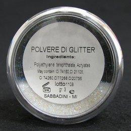 Polvere di glitter Reality Bianco Cangiante