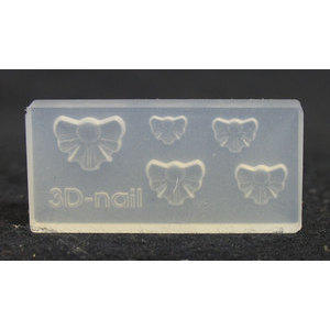 3D Nail Art Mold stampino in silicone art. 017