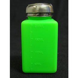 Erogatore a pressione verde con tappo in metallo 200 ml