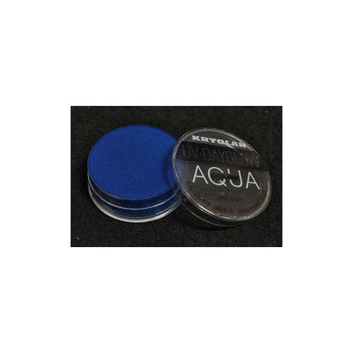 AQUA COLOR FLUO UV Day Glow Blu Fluo Kryolan 8 ml