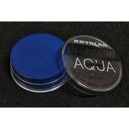 AQUA COLOR FLUO UV Day Glow Blu Fluo Kryolan 8 ml