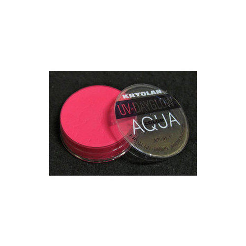 AQUA COLOR UV Day Glow Pink 8ml Kryolan