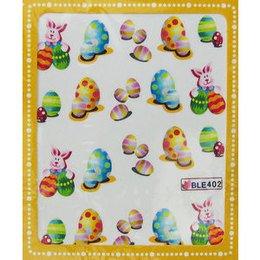 Sticker adesivi uova di Pasqua cod. BLE402