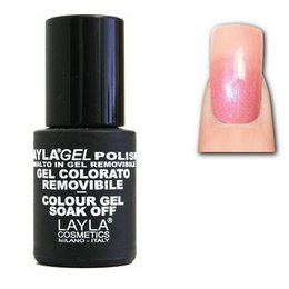 LaylaGel Polish Gel Colorato nr 1 Baby Pink 10 ml