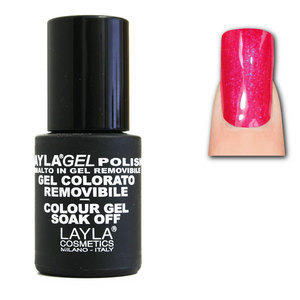 LaylaGel Polish Gel Colorato nr 7 Funky Pink 10 ml