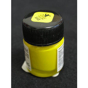 Colore Acrilico per Nail Art 15 ml One Stroke Yellow 112