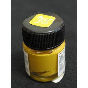 Colore Acrilico per Nail Art 15 ml One Stroke Yellow Ochre 110