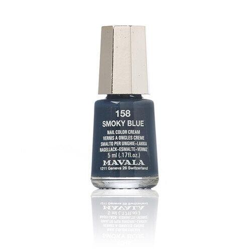 Smalto per Unghie Mavala 158 Smoky Blue 5 ml