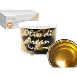 Cera epilazione liposolubile Olio di Argan Wax 72 vasi da 400 ml cad.